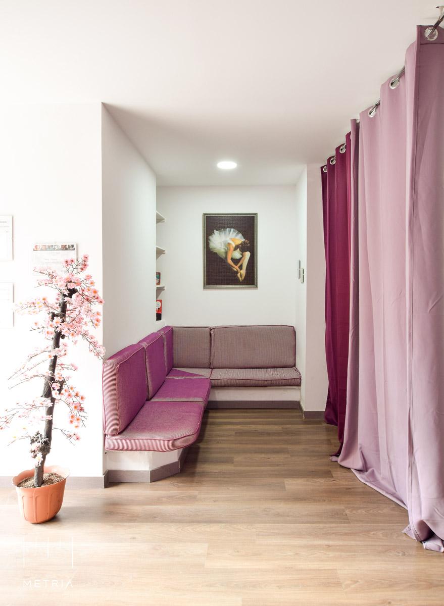 Escuela de Danza: sala de espera