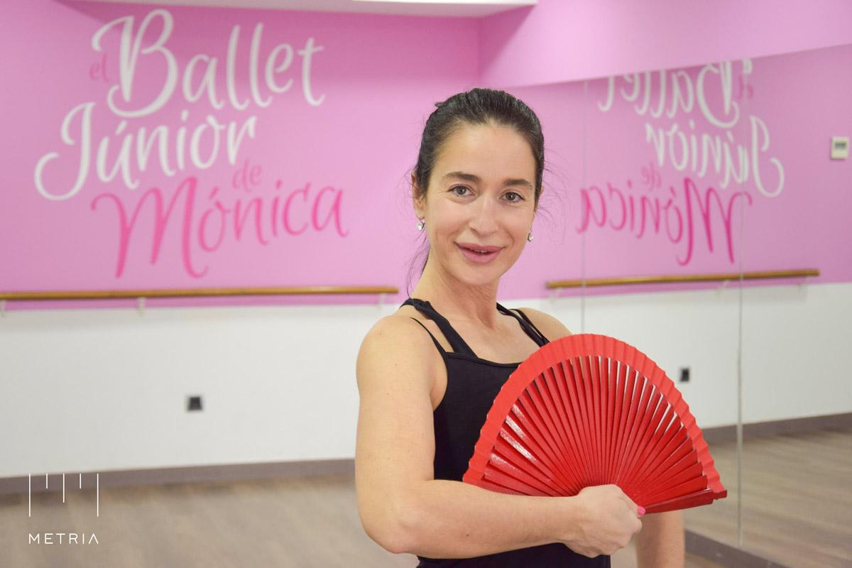 Monica Merinero en su Escuela