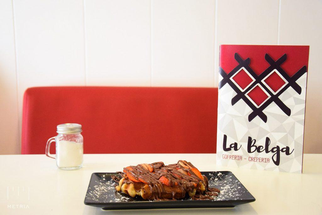 Auténtico gofre belga en Alcalá de Henares, carta de crepes salados y dulces